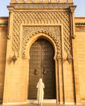 Wonderful Moroccan Door Doriane Baker